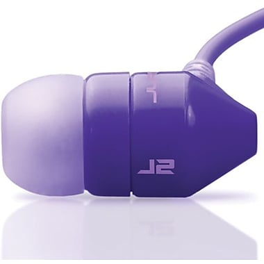 JBuds J2 Earbuds - Noise-Isolating In-Ear Style Headphones, Purple/Lavender