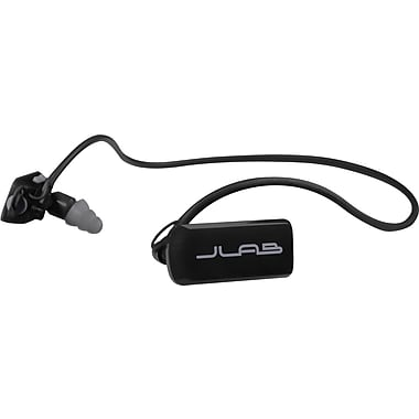 JLab GO Sports MP3 Player Headphones, 4GB, Black/Gray