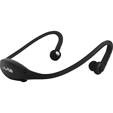 JLab GO Wireless Bluetooth Headphones with Mic, Black