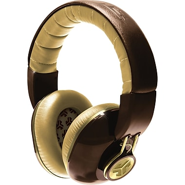JLab Bombora Over the Ear Headphone, Deville Brown