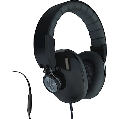 JLab Bombora Over the Ear Headphone, Midnight Black