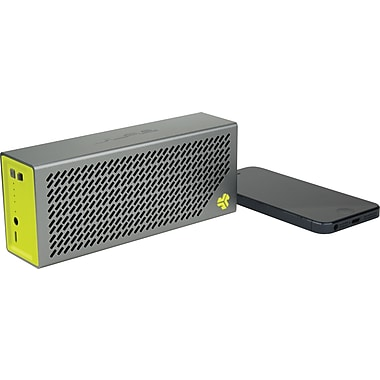 JLab Crasher Portable Bluetooth Hi-Fi Speaker with Phone Charging Port, Sports Yellow