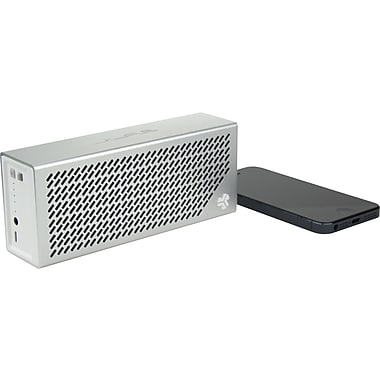 JLab Crasher Portable Bluetooth Hi-Fi Speaker with Phone Charging Port, Air Aluminum