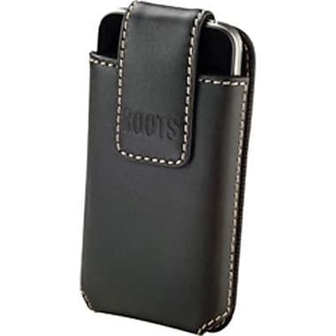 Roots Vertical Leather Belt Clip Holster for iPhone 5