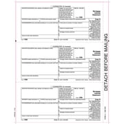 "TOPS® 1098 Tax Form, 1 Part, Payer - Copy B, White, 8 1/2"" x 11"", 50 Sheets/Pack"