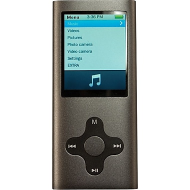 Mach Speed Eclipse 180 G2 4GB MP4 Player, Silver