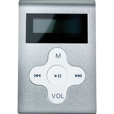 Mach Speed Eclipse CDL 4GB MP3 Player, Silver