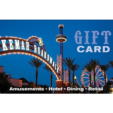 Kemah Boardwalk Gift Card $25