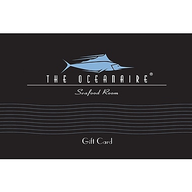 The Oceanaire Gift Card $25