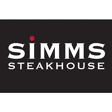 Simm's Steak House Gift Card $25