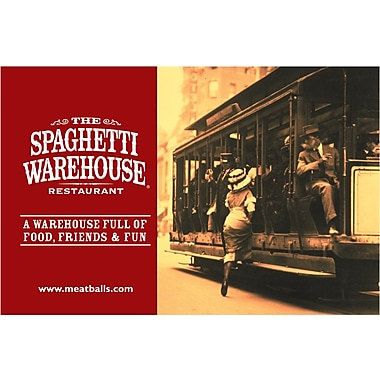 The Spaghetti Warehouse Gift Card $25