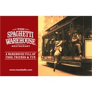 The Spaghetti Warehouse Gift Cards