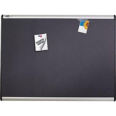 Quartet® - Tableau d'affichage aimanté avec surface en tissu, 72 po x 48 po