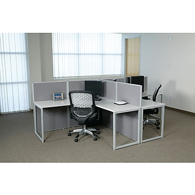 OSP Box Office T-Shaped Workstation, 2 User