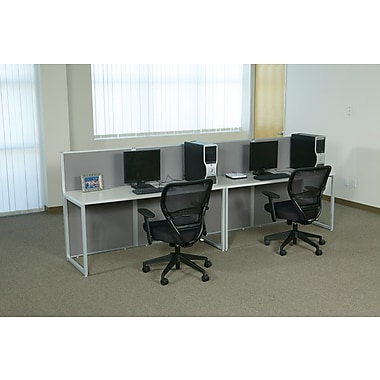 OSP Box Office Double In-Line Workstation, 2 User