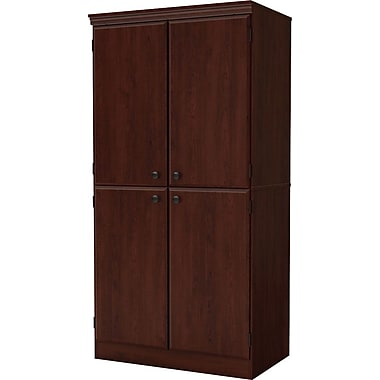South Shore Morgan Storage Cabinet, Royal Cherry