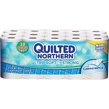 Quilted Northern Ultra Soft & Strong, 2-Ply, 30 Rolls/Case
