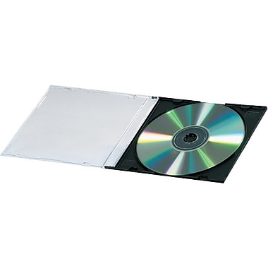 Fellowes Slim Line CD Jewel Cases, 200/Case