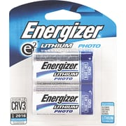 Energizer® e² Lithium Photo Battery, CRV3, 3 Volt, 2/Pack