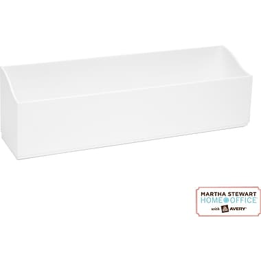 Martha Stewart Home Office with Avery Wall Manager Letter Caddy, 21720, Chalk White,
