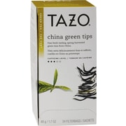 Starbucks® Tazo China Green Tips Green Tea, Regular, 24 Tea Bags/Box