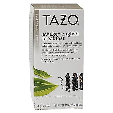 Starbucks Tazo Awake Black Tea, 24 Tea Bags/Box