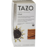 Starbucks® Tazo® Organic Chai Spice Tea, Regular, 24/Packets