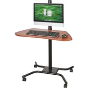 Balt 90329 Laptop Desk, Brown/Black