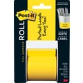 Post-it Full Adhesive Roll, 2in. x 400in., Yellow