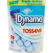 Toss Ins Powder Laundry Detergent, Packets, 4 per Carton