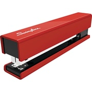 Swingline® Metal Fashion Stapler, 20 Sheet Stapling Capacity, Red / Black Accent