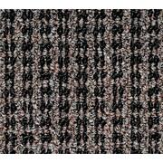 """Oxford™ Wiper Mat, Black/Brown, 60"""" L x 36"""" W"""