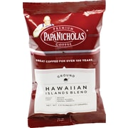 Papa Nicholas® Hawaiian Islands Blend Ground Coffee, Regular, 2.5 oz., 18 Packets