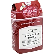 Papa Nicholas® Breakfast Blend Whole Bean Coffee, Regular, 2 lb. Bag