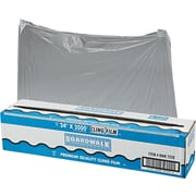 "Boardwalk® 7229 Food Wrap Film Roll With Cutter, 2000'(L) x 24""(W), Clear"