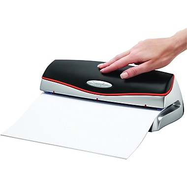 Swingline® Optima 20 Electric 3-Hole Punch, 20-Sheet Capacity