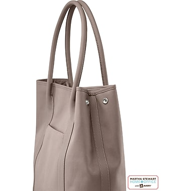 Martha Stewart Home Office with Avery Laptop Tote, Walnut, 14in. x 16 1/2in. x 6in.