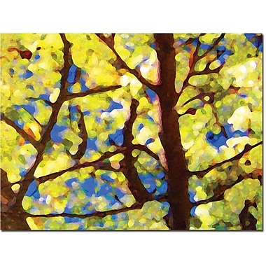 Trademark Global Amy Vangsgard in.Spring Treein. Canvas Art, 18in. x 24in.
