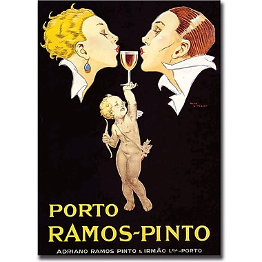 Trademark Global in.Porto Ramos Pintoin. Gallery Wrapped Giclee on Canvas Art, 35in. x 47in.
