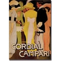 Trademark Global in.Cordial Campariin. Canvas Art, 35in. x 47in.