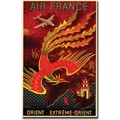 Trademark Global in.Air France Orient Extremein. Gallery Wrapped Canvas Art, 35in. x 47in.