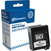Dataproducts Black Reman Fax Cartridge, Canon BX-3 (0884A003)