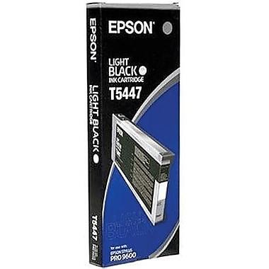 Epson T544 Photo Light Black UltraChrome Ink Cartridge (T544700)