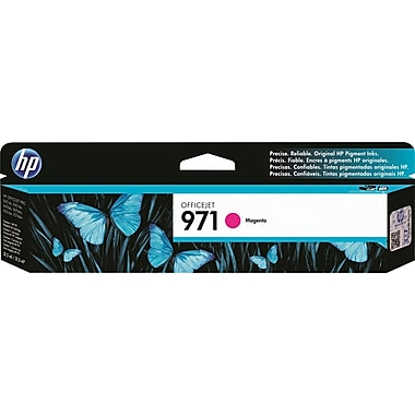 HP 971 Officejet Pro X Magenta Ink Cartridge (CN623AM)
