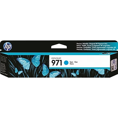 HP 971 Officejet Pro X Cyan Ink Cartridge (CN622AM)