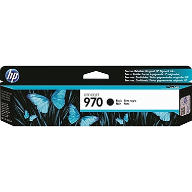 HP 970 Officejet Pro X Black Ink Cartridge (CN621AM)