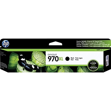 HP 970XL Officejet Pro X Black Ink Cartridge (CN625AM), High Yield