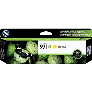 HP 971XL Yellow Ink Cartridge (CN628AM), High Yield