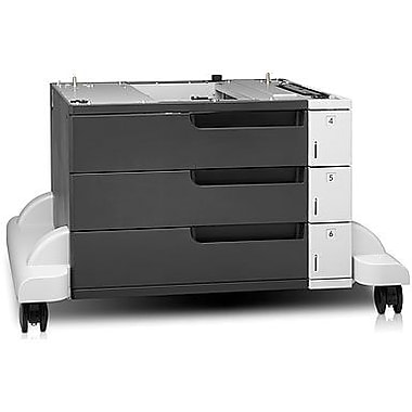 HP LaserJet 3x500-sheet Feeder and Stand (CF242A)