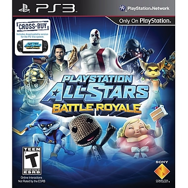 Sony® 98472 PlayStation All-Stars Battle Royale, Action & Adventure, PlayStation 3